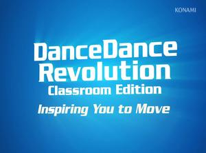 DanceDanceRevolution Classroom Edition LAUNCHED