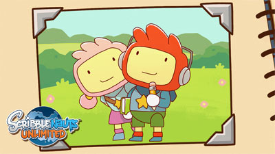 Scribblenauts Unlimited for WiiU and Nintendo 3DS