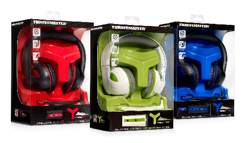 ThrustMaster Releases New Y-Gaming Headsets