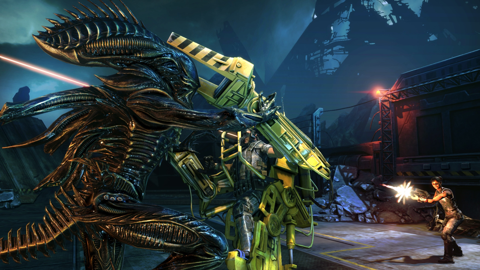 Aliens  Colonial Marines Review  Poor XenomorphsXenomorph Types Aliens Colonial Marines