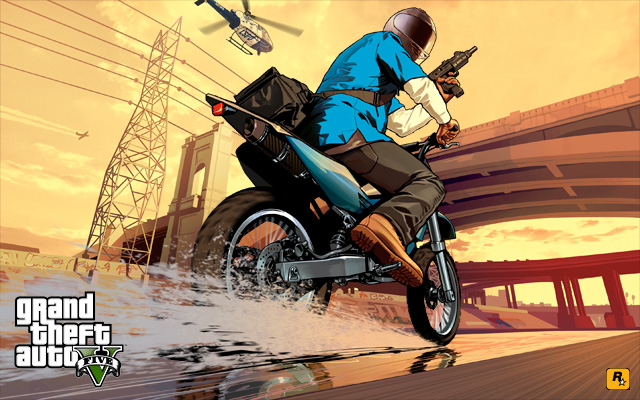 NEW Grand Theft Auto V Gameplay Trailer