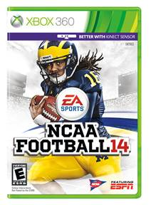 NCAA Football 14 Cover ART