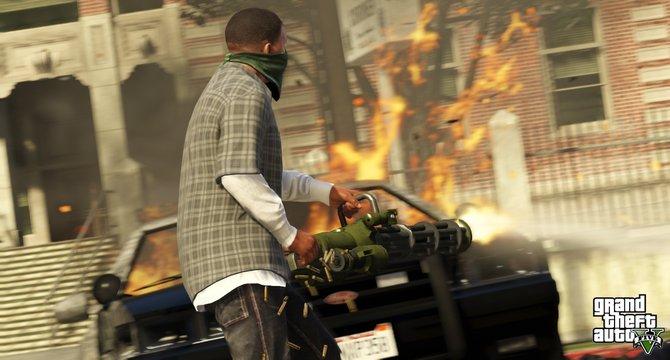 Grand Theft Auto V Online Mode Revealed