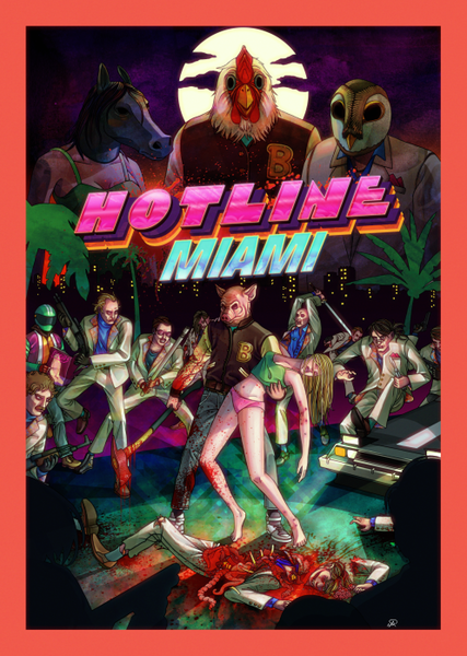 """Hotline Miami"" The Bloody Review"