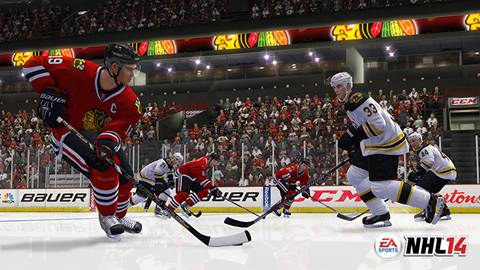 Become a FIGHTER in NHL 2014