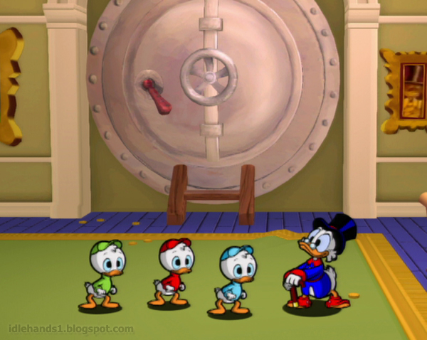 ducktales remastered video game