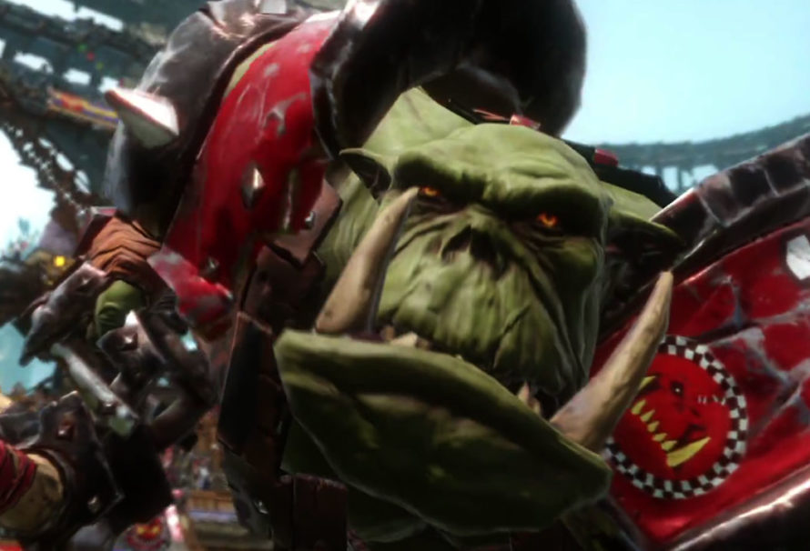Blood Bowl 2: Watch the first kickoff