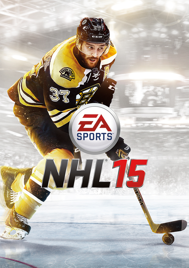 EA Sports Announces Patrice Bergeron as Fan-Selected NHL 15 Cover Athlete
