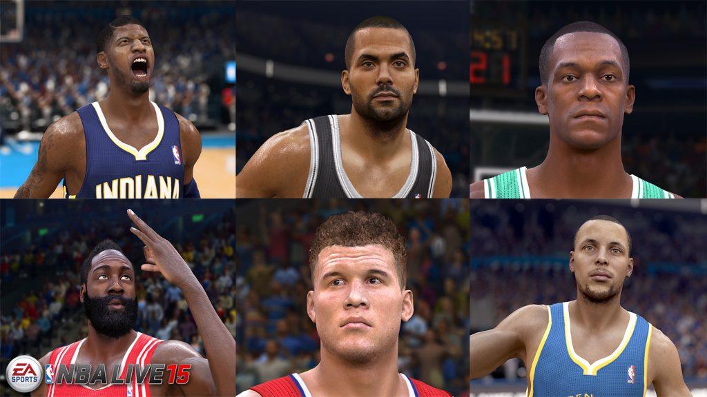 NBA LIVE 15 First Screen