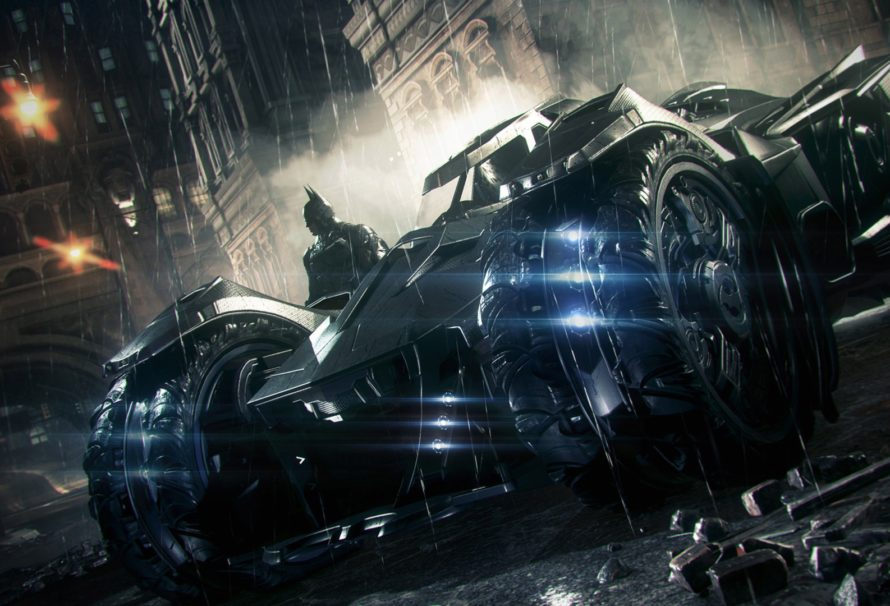 Batman: Arkham Knight Batmobile Battle Mode Revealed
