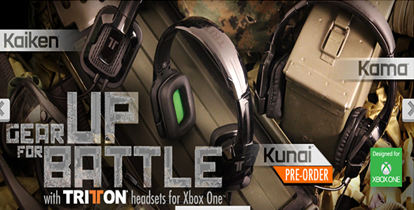 Tritton Headsets Header