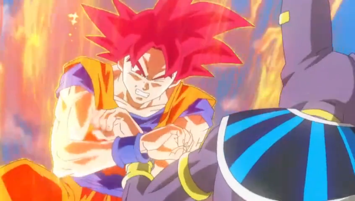 Dragon Ball Z  Battle of Gods Movie ReviewBills Vs Goku Gif