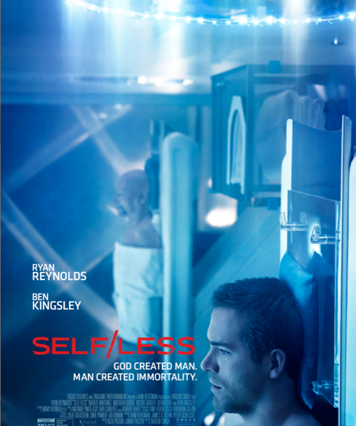 SELF/LESS Film Poster brings sci-fi to forefront