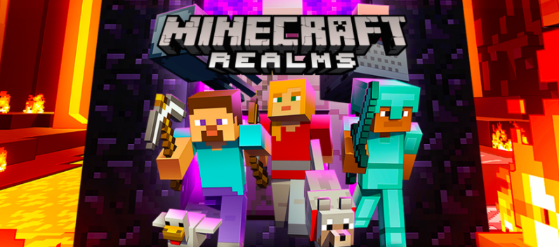 Minecraft Realms Now Allows Crossplay