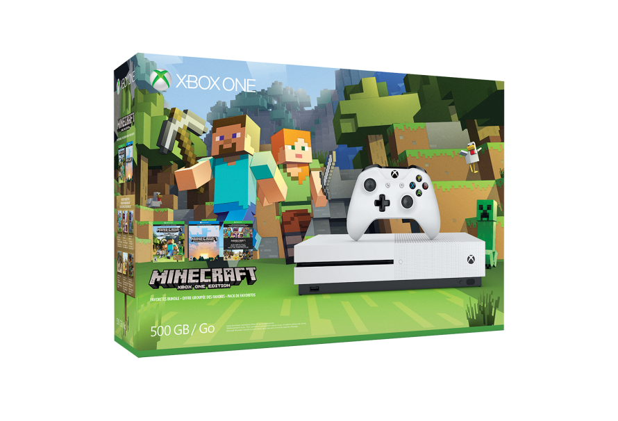 Minecraft Xbox One S Launches Next Week
