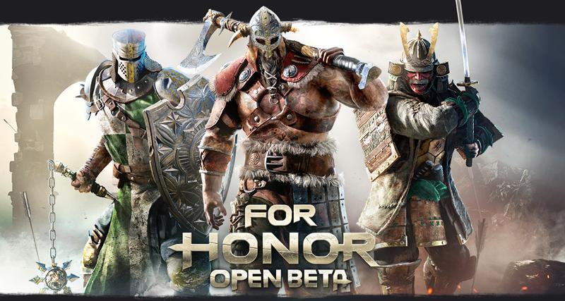For Honor Open Beta Begins Next Week