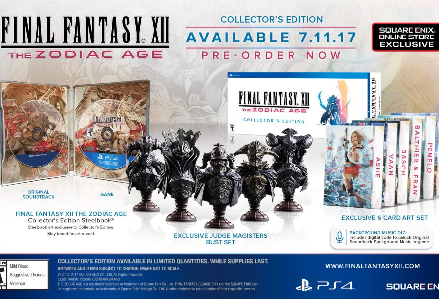 Final Fantasy XII Zodiac Age Collector's Edition Revealed