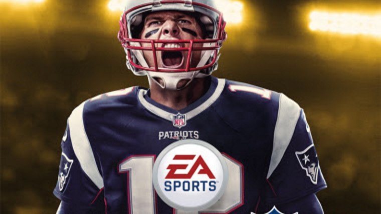 Madden NFL 18 Cover Athlete is the G.O.A.T Tom Brady