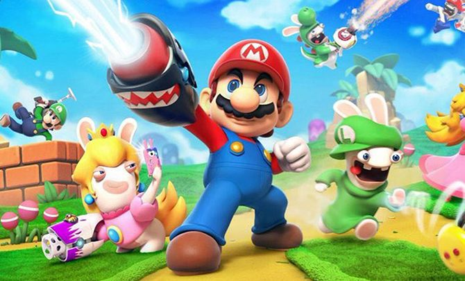 Mario + Rabbids Kingdom Battle Official Trailer
