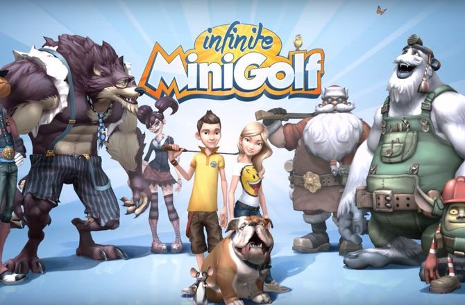"Zen Studios ""Infinite Minigolf"" Releases July 25 and to include Cross-Platform Sharing"