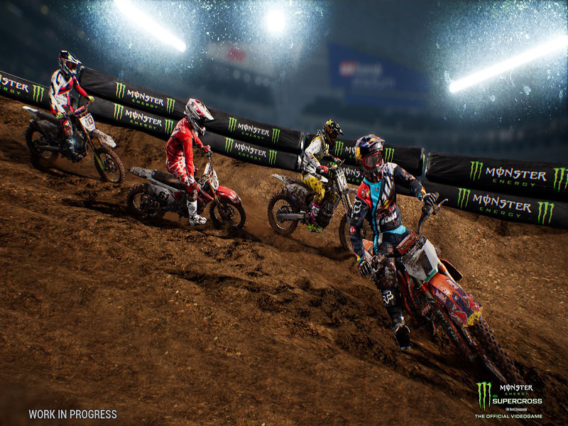 Monster Energy Supercross – From Real Life To Video Game