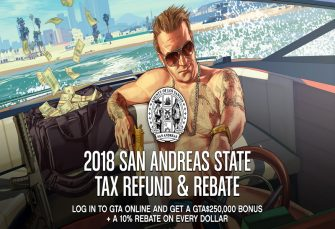 Earn Mad Cash Back In GTA V Tax Refund Promotion