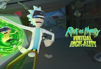 Oh Crap! It's Rick And Morty On PlayStation VR!